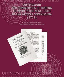 Univesità di Modena, Carmelo Elio Tavilla